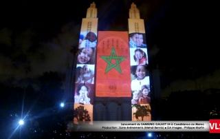 3d-mapping-samsung drapeau maroc VLS