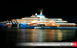 Mapping-3d-yacht-dubai par les équipes de VLS