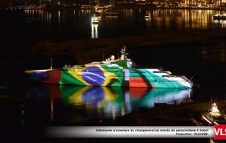 Mapping-3d-yacht-dubai drapeau brésil