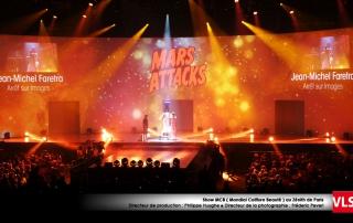 Projection_video_show MCB Paris par VLS