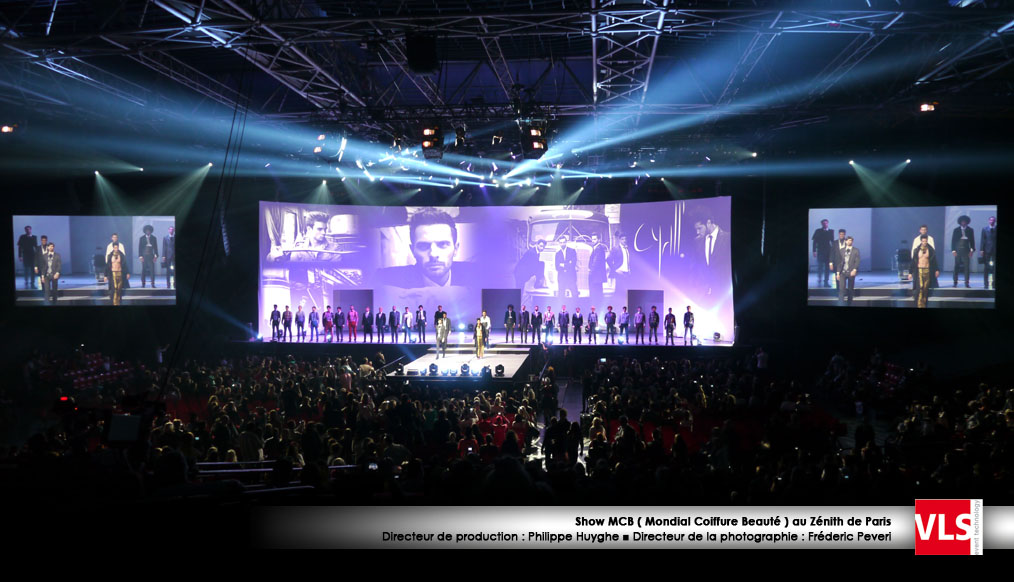 Projection_video_show mcb a Paris par VLS