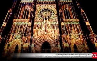 mapping 3D cathedrale strasbourg par VLS