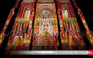 mapping 3D cathedrale strasbourg VLS Paris