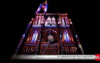cathedrale strasbourg mapping 3D