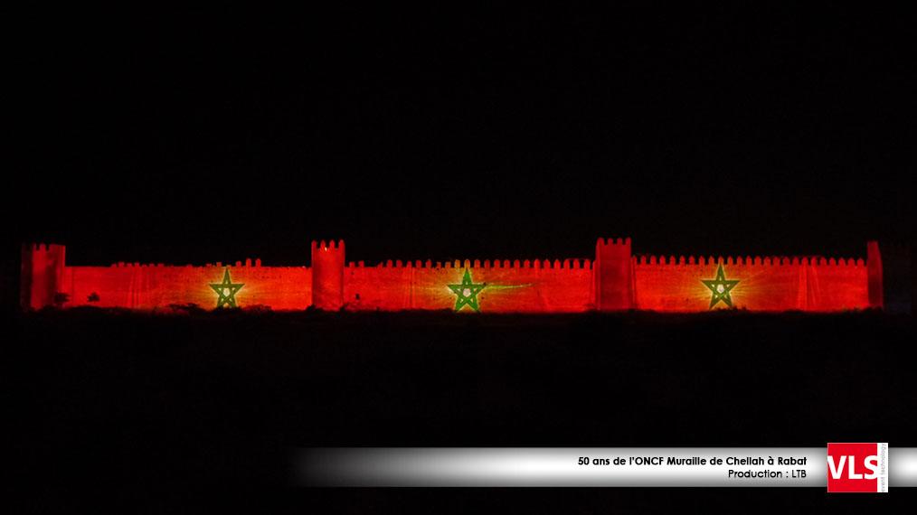 mapping_3D au Maroc sur la murail a Rabat