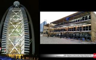 Burj al Arab mapping 3D Dubai VLS