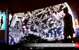 mapping_3D_paris italie 2 par prestataire audiovisuel VLS