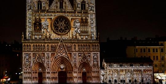 mapping_3d_lyon sur cathédrale par VLS