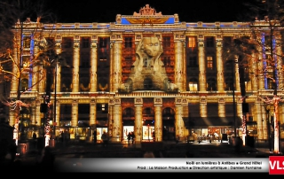 Grand Hotel mapping video antibes