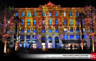 Grand Hotel Antibes mapping vidéo VLS