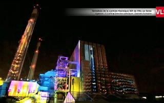 mapping vidéo EDF Vitry VLS