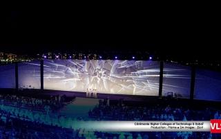 projection-audiovisuelle cérémonie Dubai