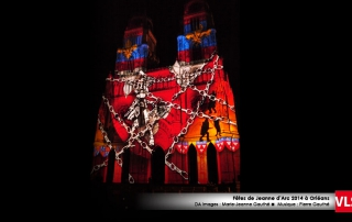 cathédral Orléans projection-mapping-3d