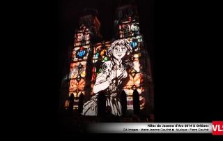 projection-mapping-3d sur cathédral Orléans