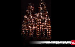 projection-mapping-3d cathédral Orléans