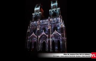 projection-mapping-3d cathédral Orléans VLS