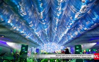 projection_audiovisuelle au plafond par VLS