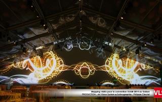 projection_audiovisuelle au plafond VLS