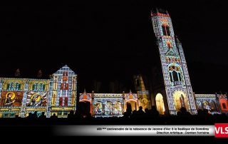 Projection monumentale Domremy VLS