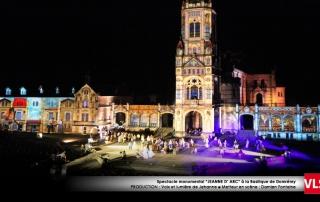 Projection monumentale Domremy VLS