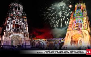 projection_monumentale Domremy par VLS