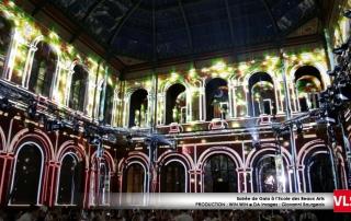 beaux art paris VLS Projection video