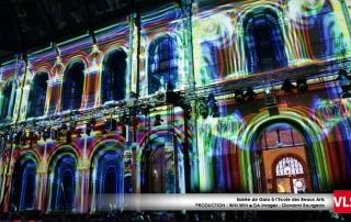 Projection video beaux art paris VLS