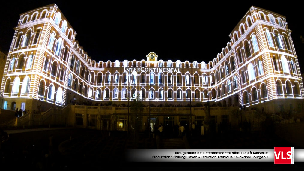 hotel dieu marseille video_mapping_3D