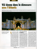 Atlantis projection vidéo