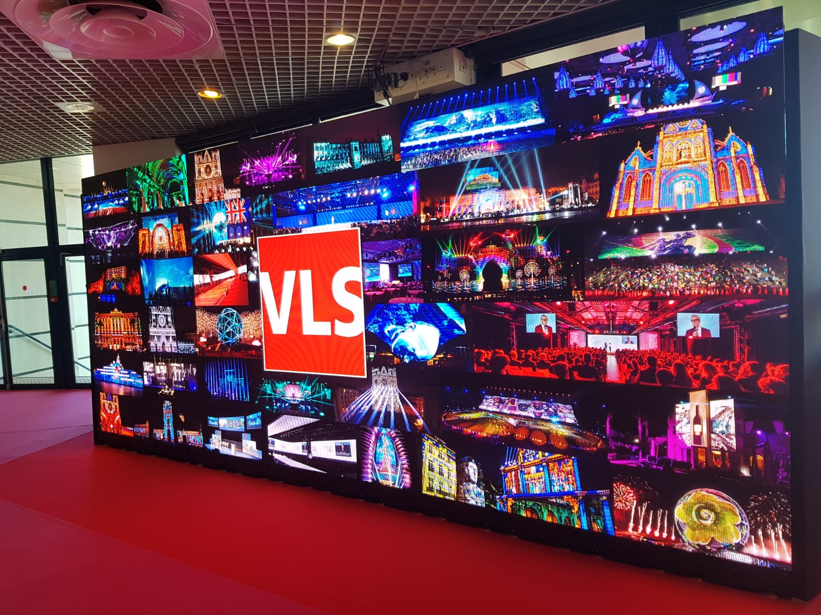 LED Wall sur Heavent Cannes