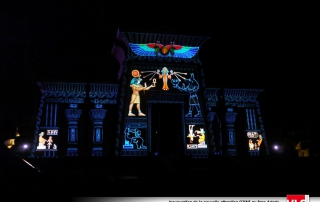 projection-mapping-3d a asterix