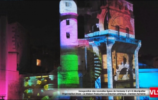Projection mapping 3D a montpellier