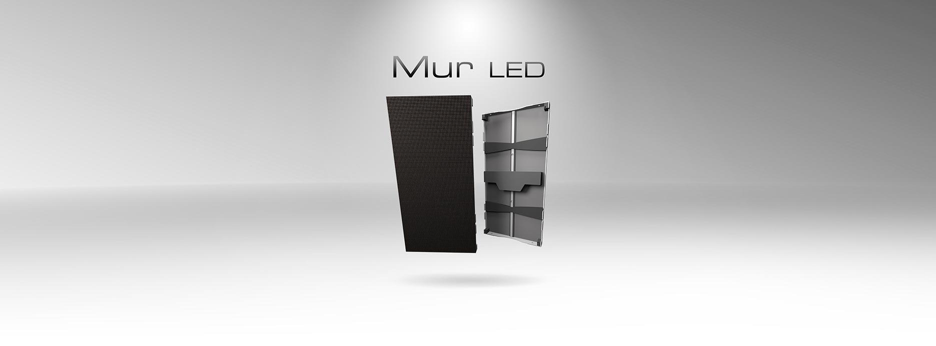 Prestataire technique mur LED