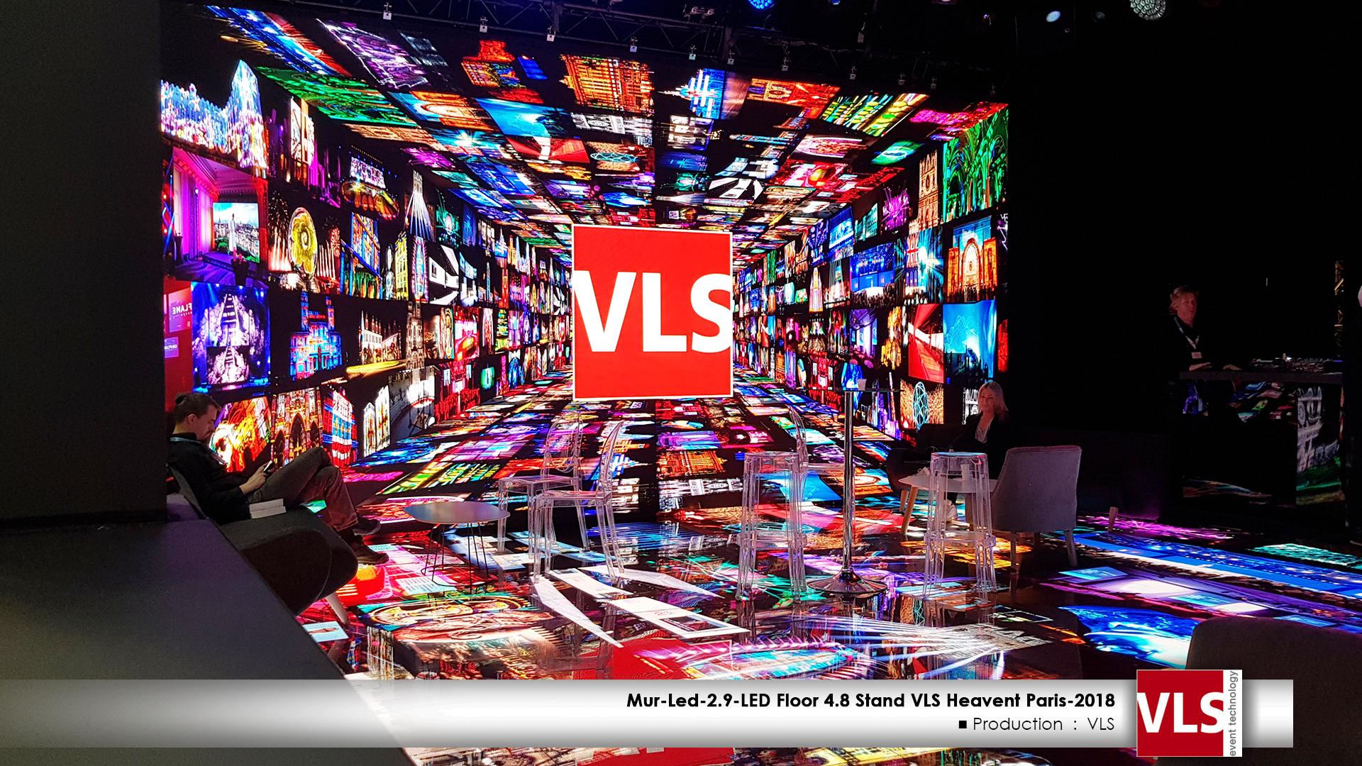 scéno immersive VLS en LED