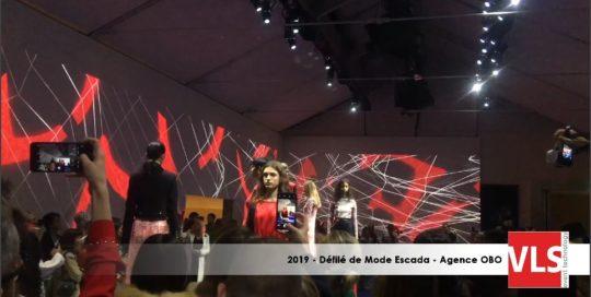mapping vidéo défilé de mode