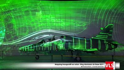 prestation vidéo mapping Arabie Saoudite