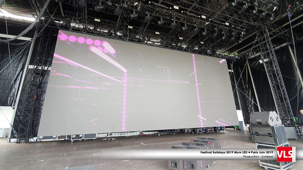 grand écran outdoor Solidays