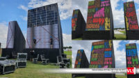 Mur LED outdoor pour le Solidays 2019