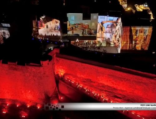 mapping vidéo spectaculaire «Festi Lumi» de Bonifacio 2019