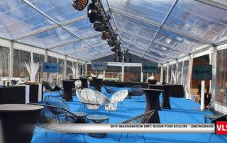prestataion dans tente cristal 35m x 10m