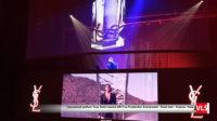 soirée DJ avec effet hologramme et mur LED