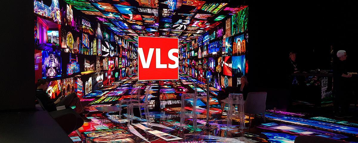 Heavent Stand VLS mur LED et LED floor