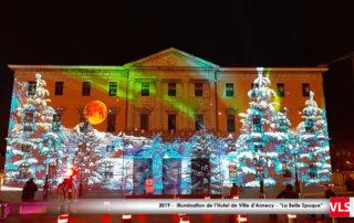 """Annecy Hoetl de Ville Spectacle de fin d'année """"La Belle Epoque"""" Noel des Alpes 2019"""