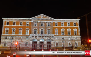 Illuminations 2019 Hotel de Ville d'Annecy