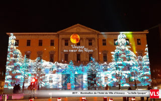 mapping video Hotel de ville d'Annecy 2019