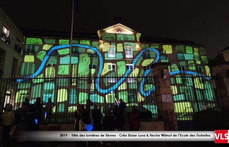 Illuminations 2019 Hotel de Ville de Sèvres