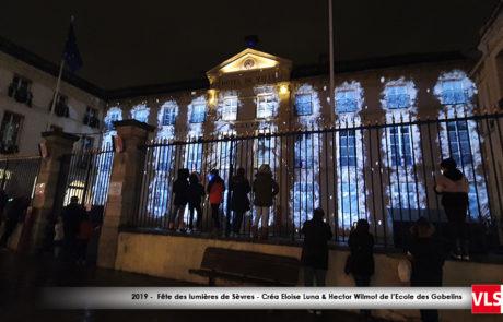 Sèvres en Lumière Mapping Vidéo