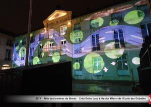 mapping Fete des lumière de Sèvres