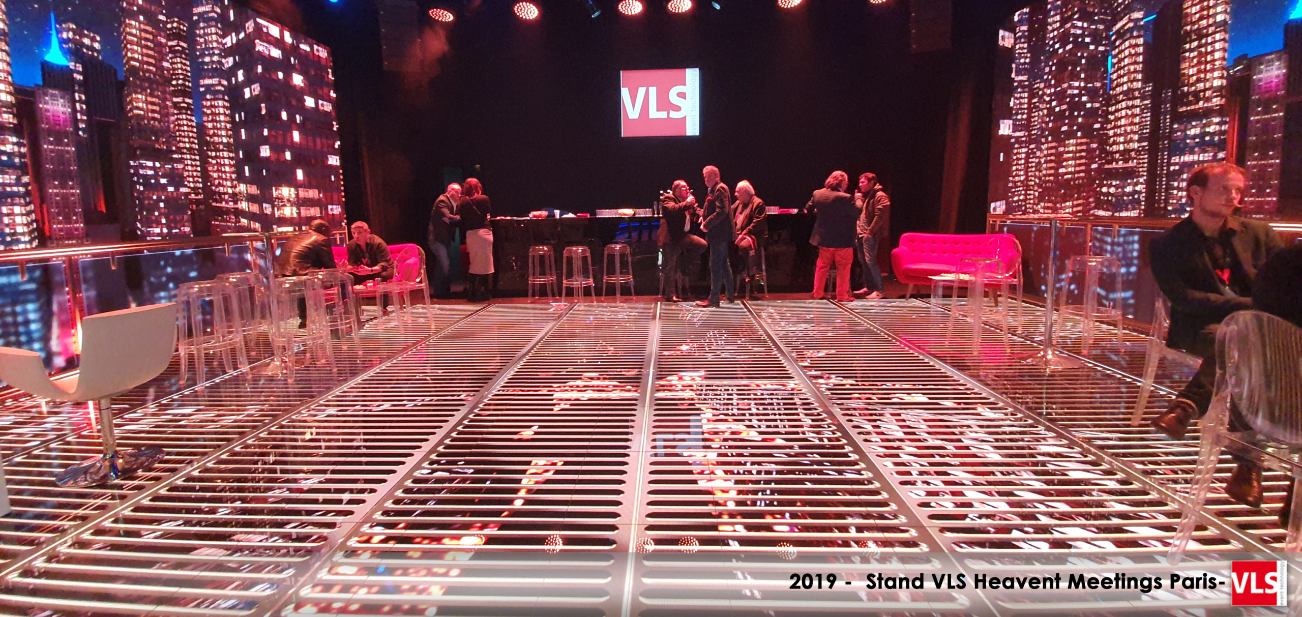 Heavent Paris 2019-Stand immersif LED VLS