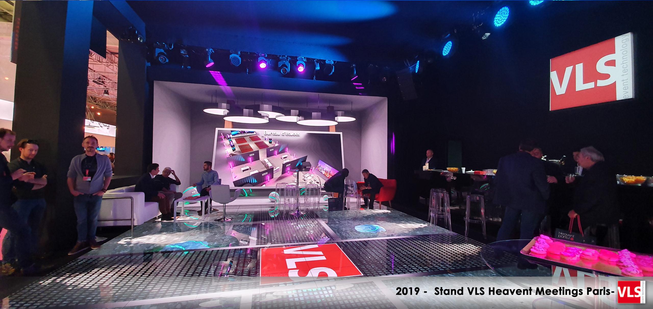 Stand immersif VLS tout en LED sur Heavent Paris 2019
